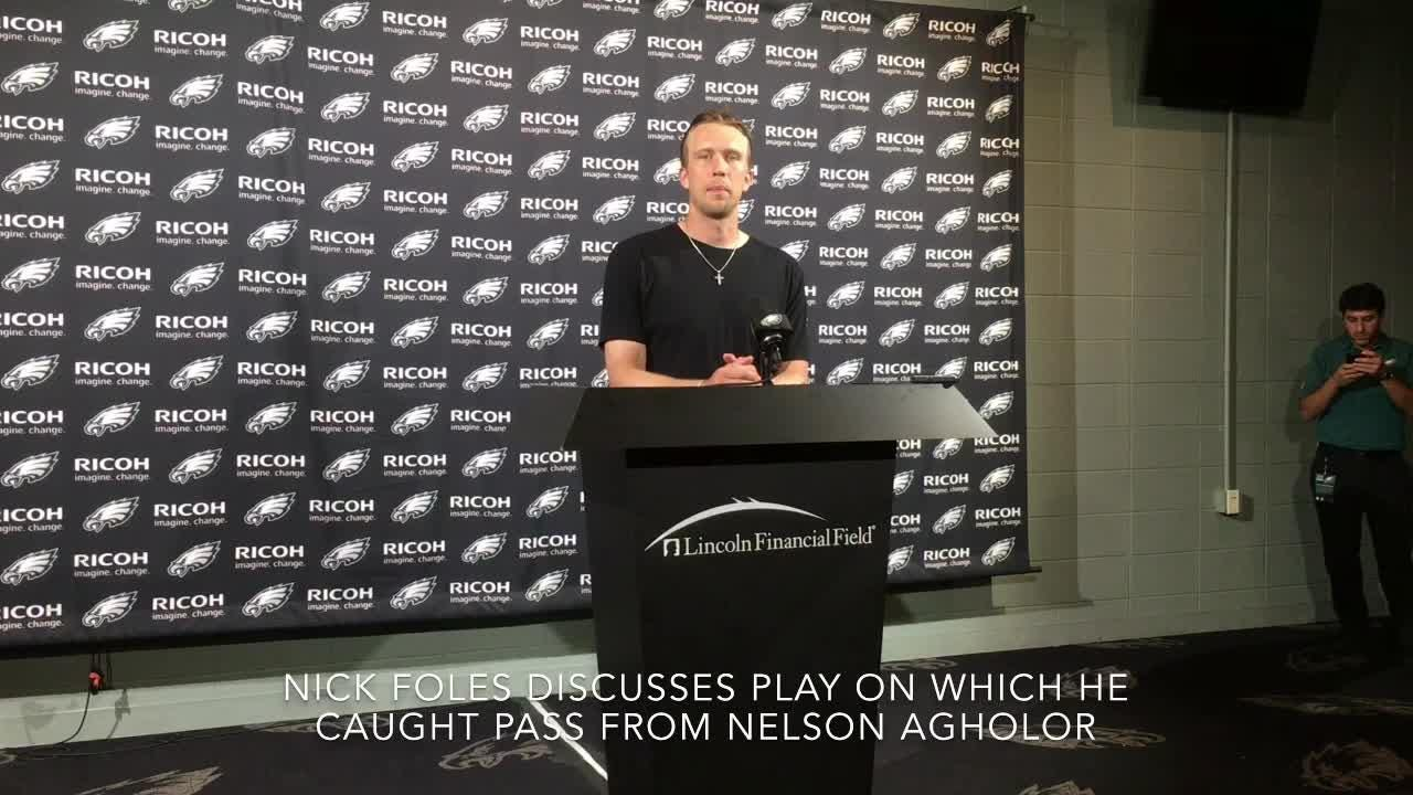 Foles discusses Eagles' win over Falcons, says offense must improve