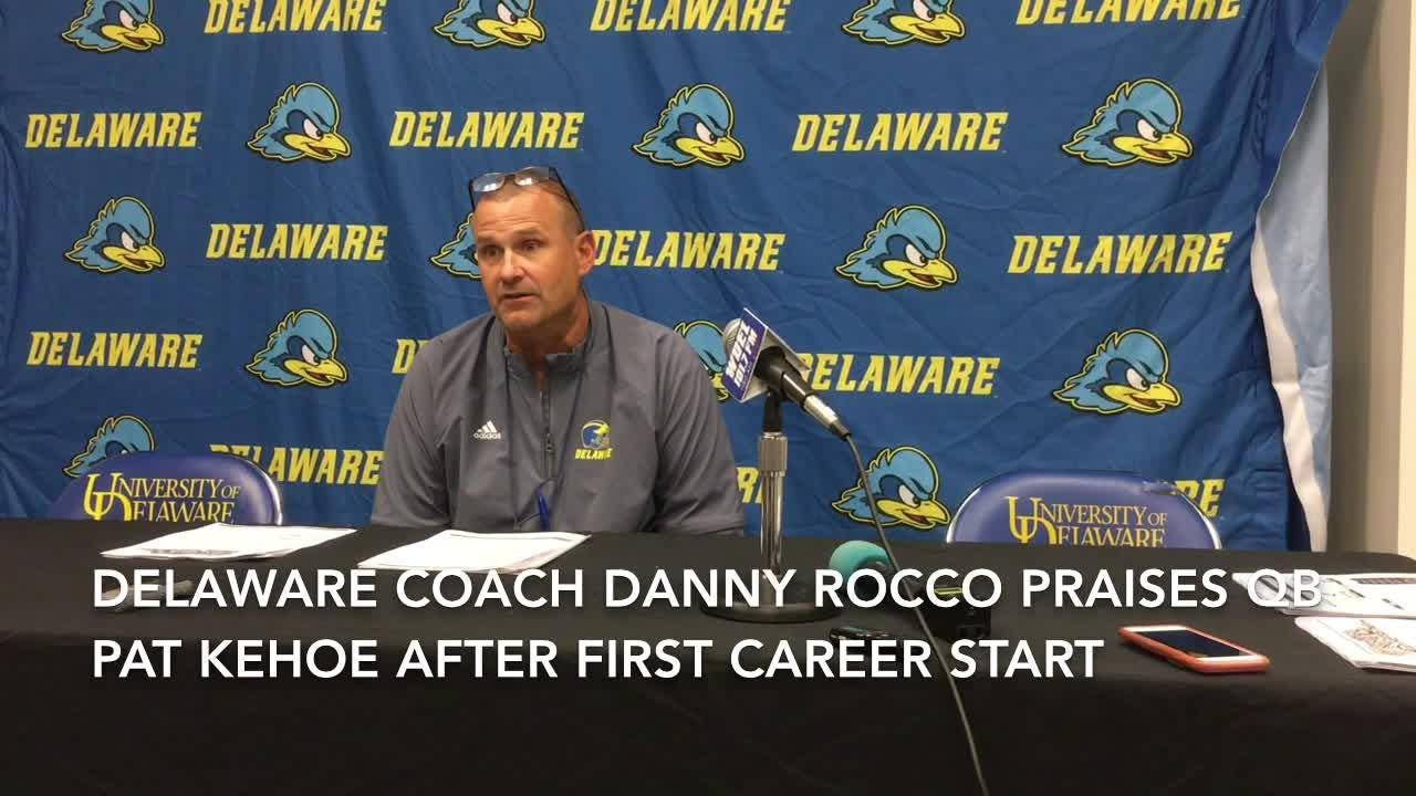 Rocco praises Kehoe's effort in opener and foresees more success for new QB starter.