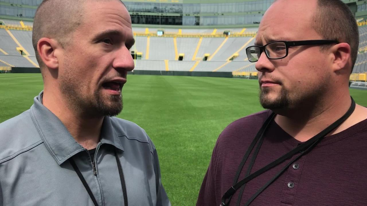 Beat writers Jim Owczarski and Ryan Wood analyze the Packers' season opener against the Bears and provide their predictions on who wins.