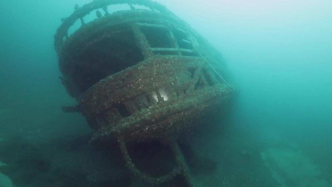 The wreck of the J.H. Jones, a passenger and package freighter that sank in 1906  in Lake Huron's Georgian Bay, was discovered July 1, 2018.