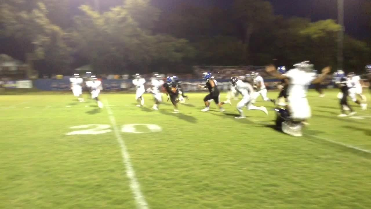 Action from North Side's 47-28 win over Milan during Week 4.