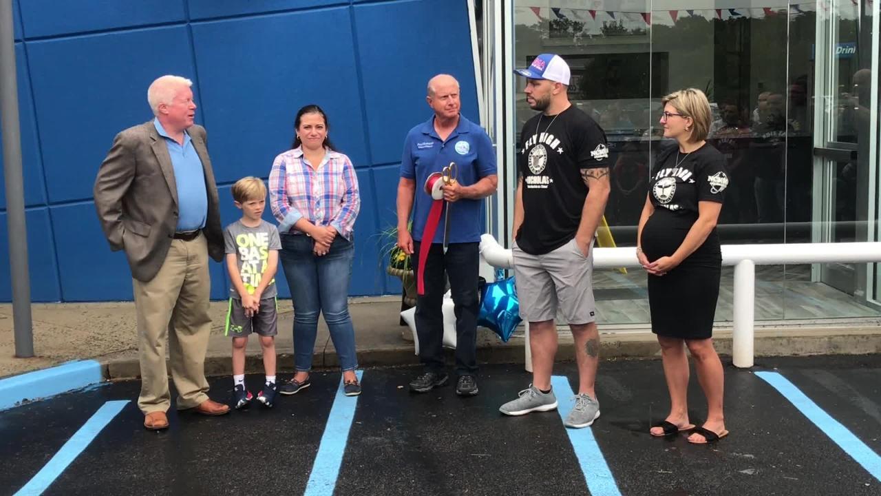 Brick welcomes Nicholas Scott Catone Training Center