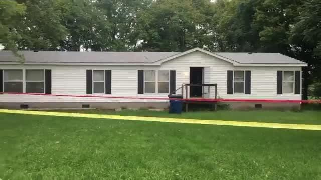 A woman called 911 to say she had shot her boyfriend, a news release said.