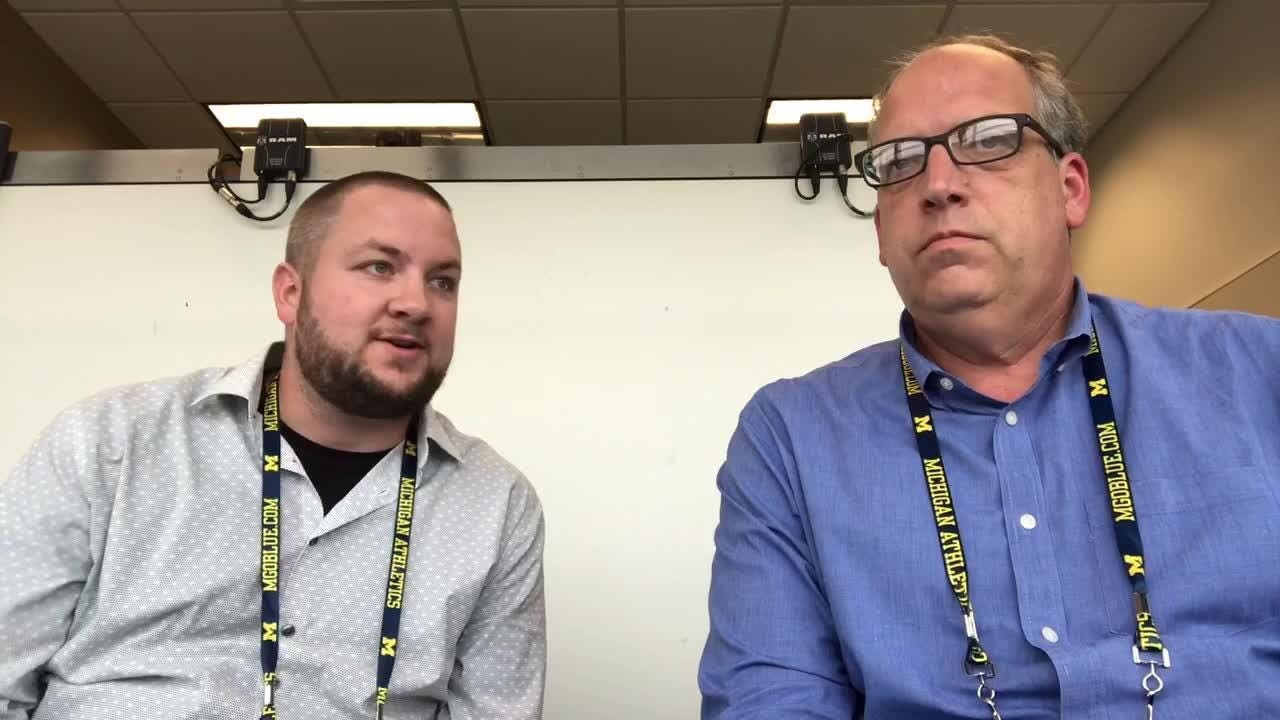 Free Press columnist Shawn Windsor and sports writer Nick Baumgardner discuss what they learned in Michigan's win over WMU, Sept. 8, 2018.