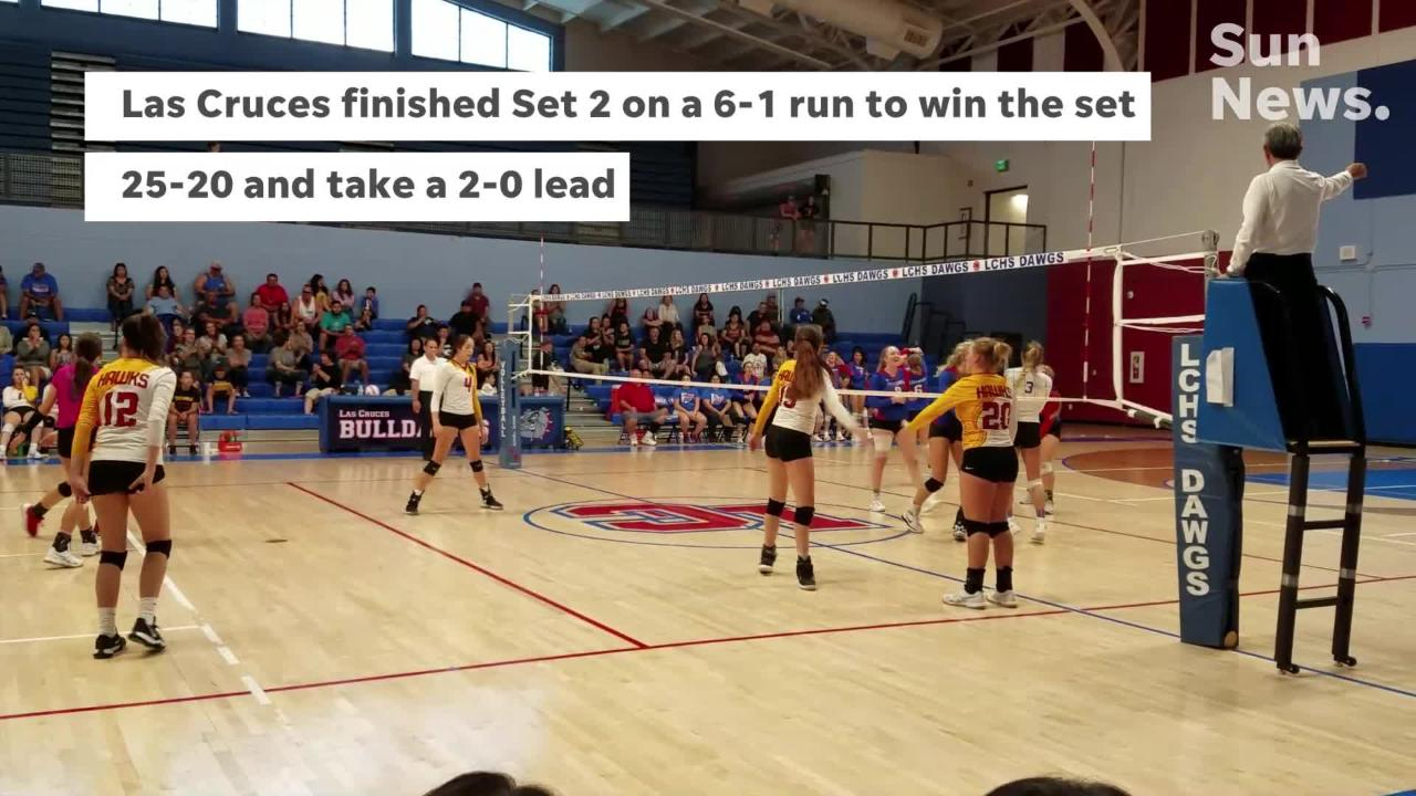 Las Cruces High swept Centennial to win the Jane Leupold Sweet 16 Tournament championship.