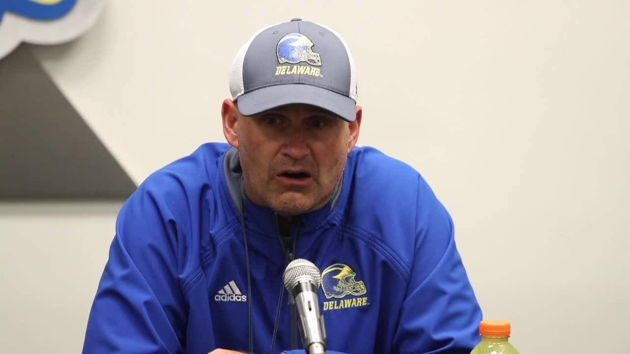 'We played close to a complete game today,' Delaware head coach Danny Rocco said after his Hens rebounded from an opening week loss by thrashing Lafayette, 37-0.