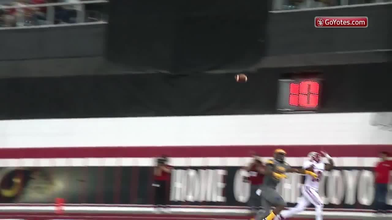 Watch as the Coyotes beat Northern Colorado in their home opener Saturday.