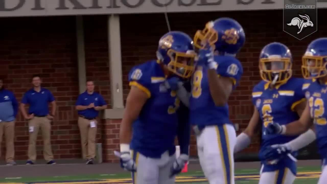 Watch as the South Dakota State Jackrabbits beat Montana State in the Jacks' home opener.