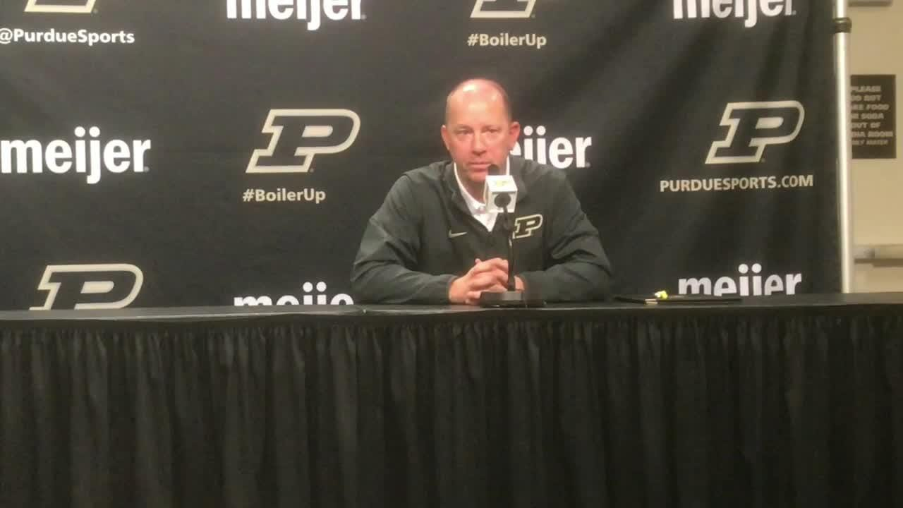 Purdue head coach Jeff Brohm on fixing his team's issues