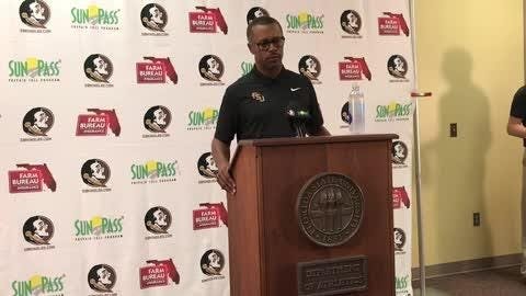 FSU coach Willie Taggart previews Syracuse and reviews Samford in his weekly press conference.