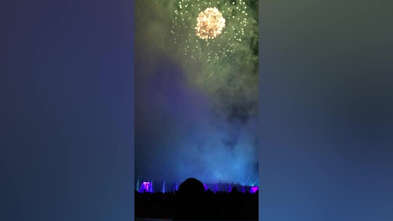 A lighting and computer system allows designers to choreograph jets of water to music and fireworks.  9/10/18