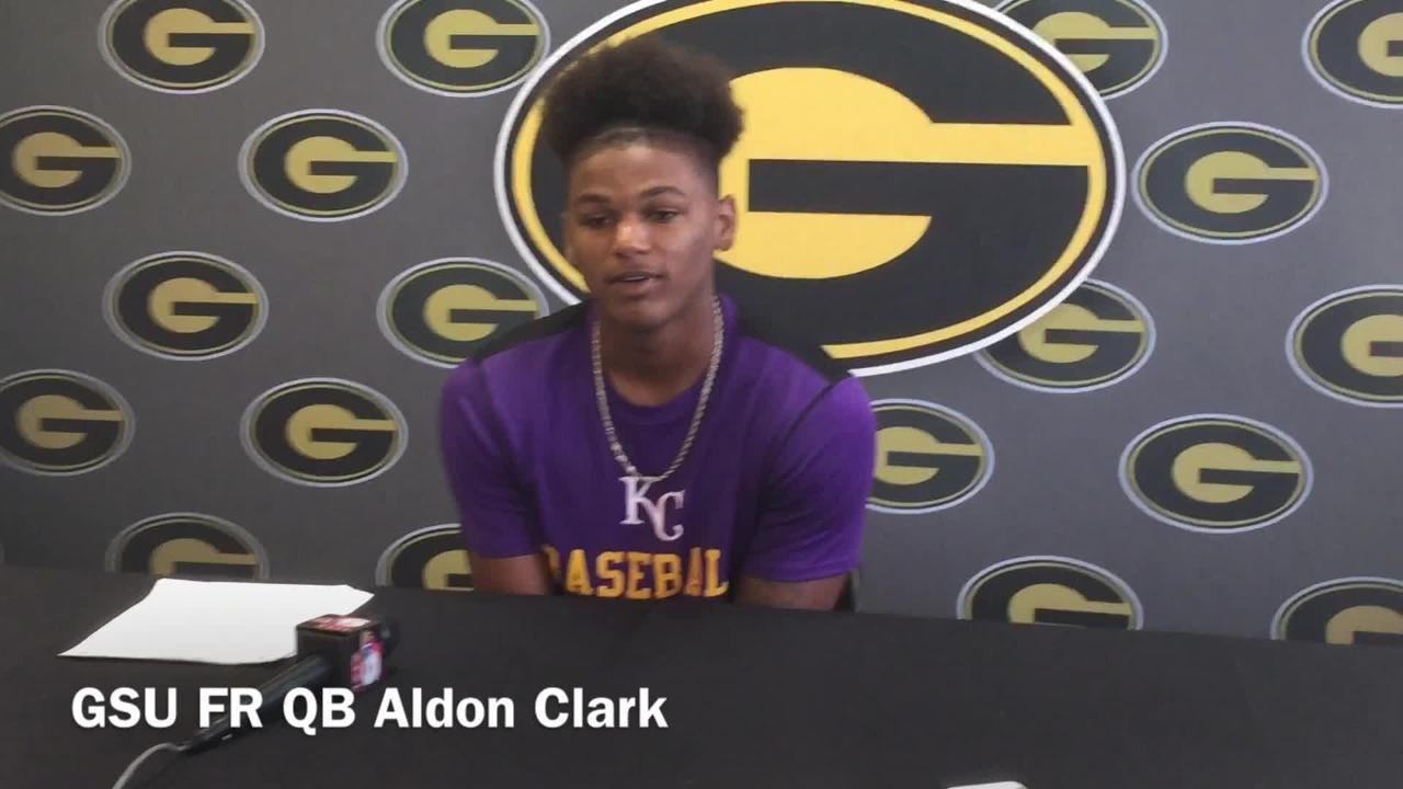 Grambling freshman QB Aldon Clark dissects issues v. NSU