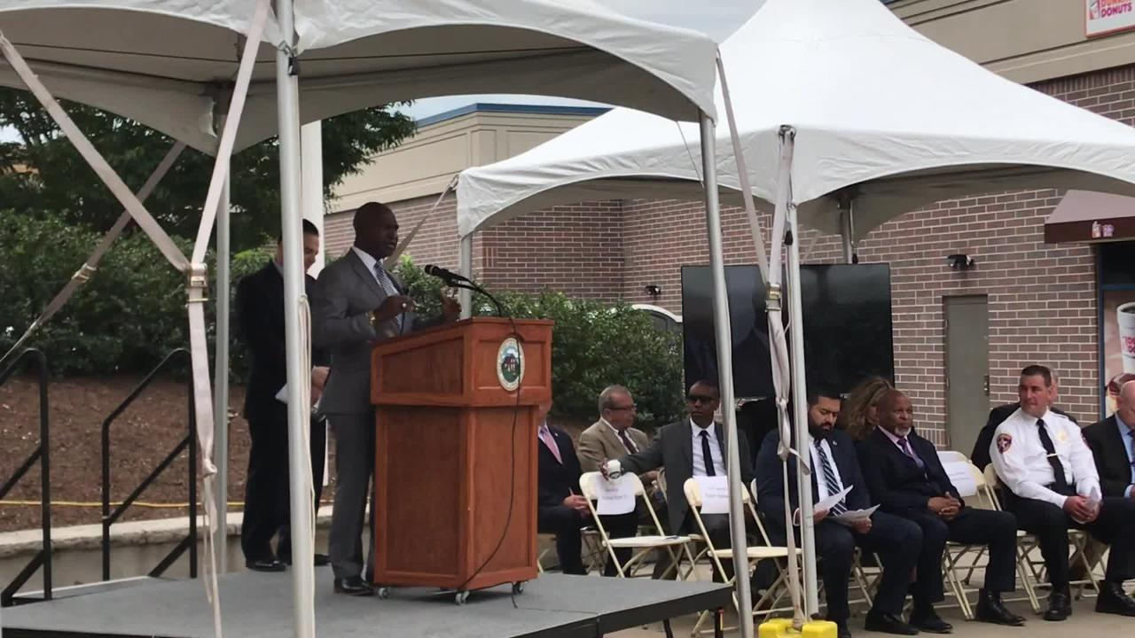 Hundreds came out to the dedication of the Assemblyman Gerald B. Green Plaza at the former Park-Madison Building in Plainfield on Sept. 8.