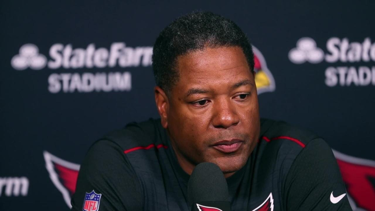 Cardinals head coach Steve Wilks goes over the things that went well and the things that went bad in their week 1 loss.