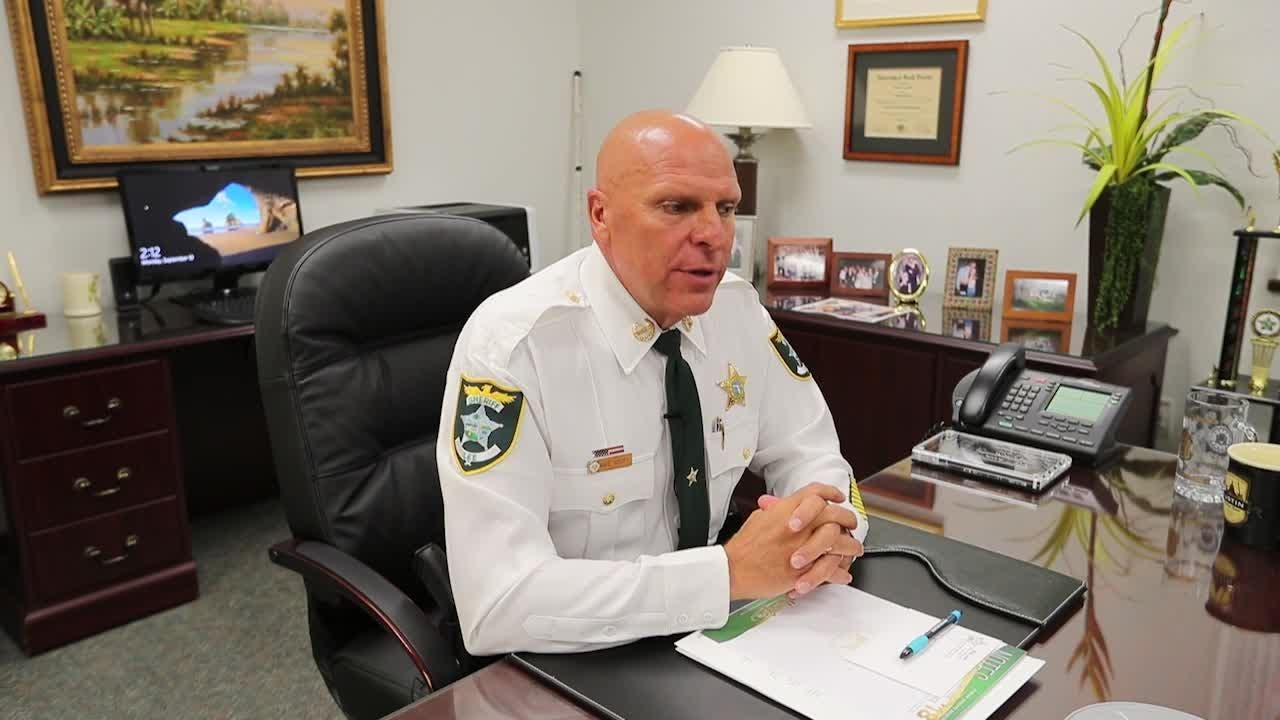 Lee County Sheriff Mike Scott discusses his decision to retire.