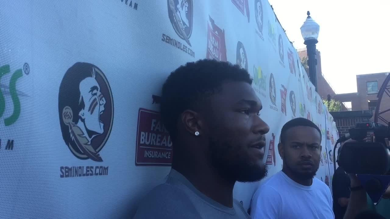 The FSU running back talked about the importance of patience for a tailback, how close he's been to breaking one.