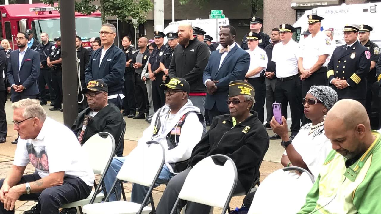 "Chiane  Anderson was born on 9/11, and on Tuesday, she sang ""God Bless America"" and the National Anthem at the 9/11 ceremony in her hometown, Passaic."
