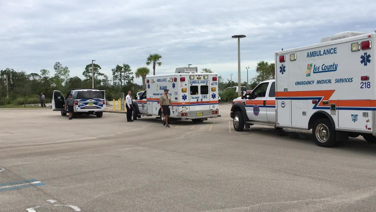 A team from Lee County EMS is on its way to the Wilmington, North Carolina area in anticipation of helping in the aftermath of Hurricane Florence.