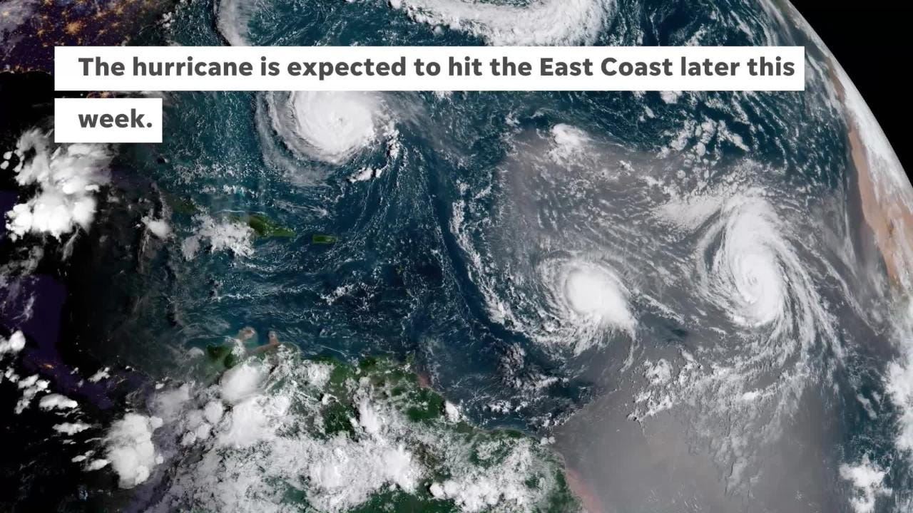 The team, including members from Phoenix fire and police, were sent to the East coast to help with response to Hurricane Florence.