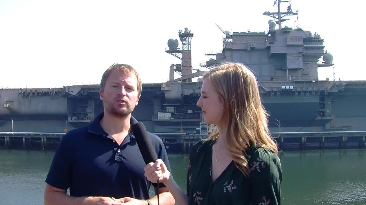 Join reporters Josh Farley and Julianne Stanford as they discuss the USS Carl Vinson, which is soon to be the next aircraft carrier homeported in Bremerton.