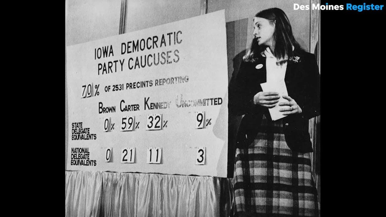Political experts explain how a contentious Democratic National Convention in 1968 helped shape the Iowa Caucuses.