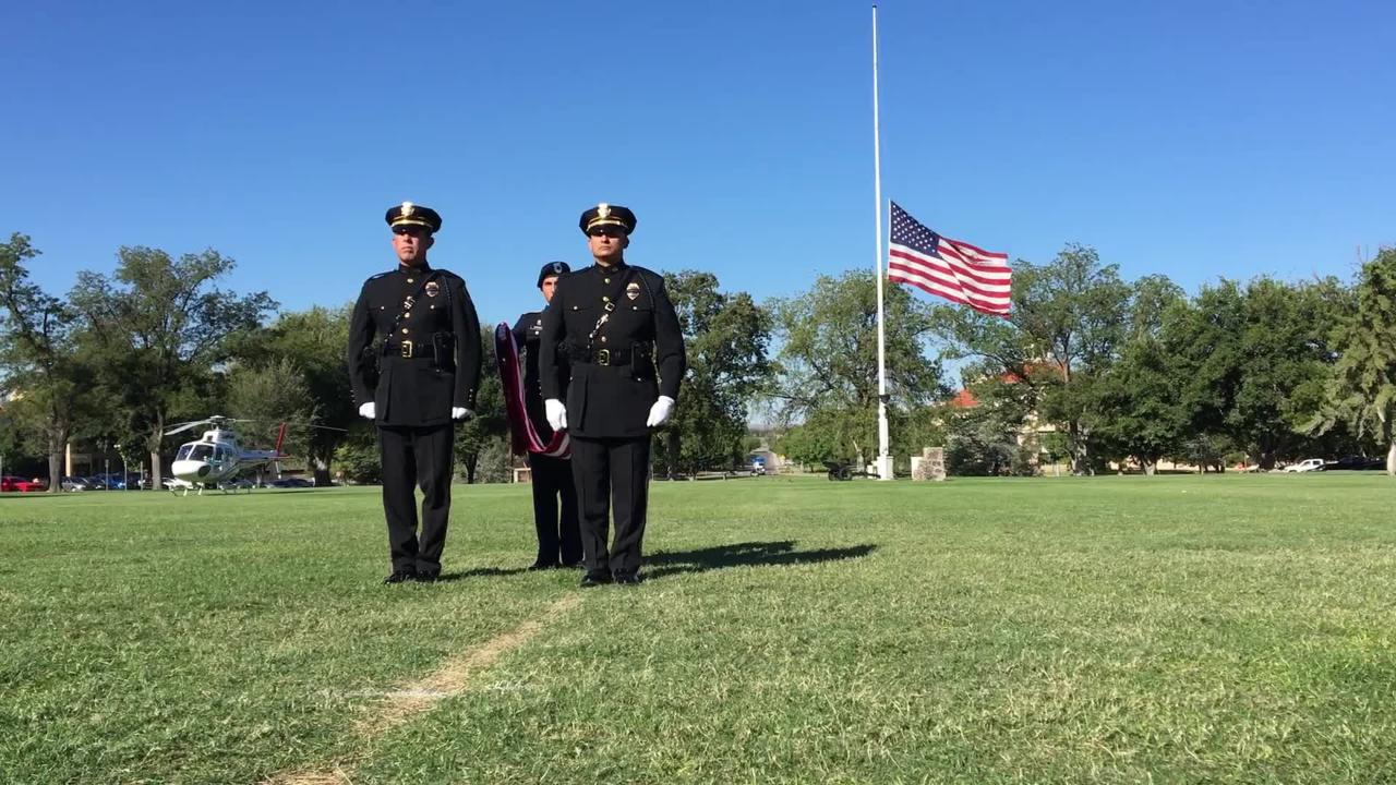A  Patriot Day Ceremony was held on the campus of New Mexico State University, Tuesday, September 11, 2018.