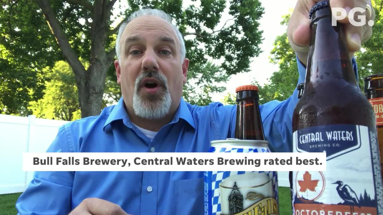 I was curious if a blind taste test of Wisconsin brewed Oktoberfest beers would change my mind about which are my favorites.