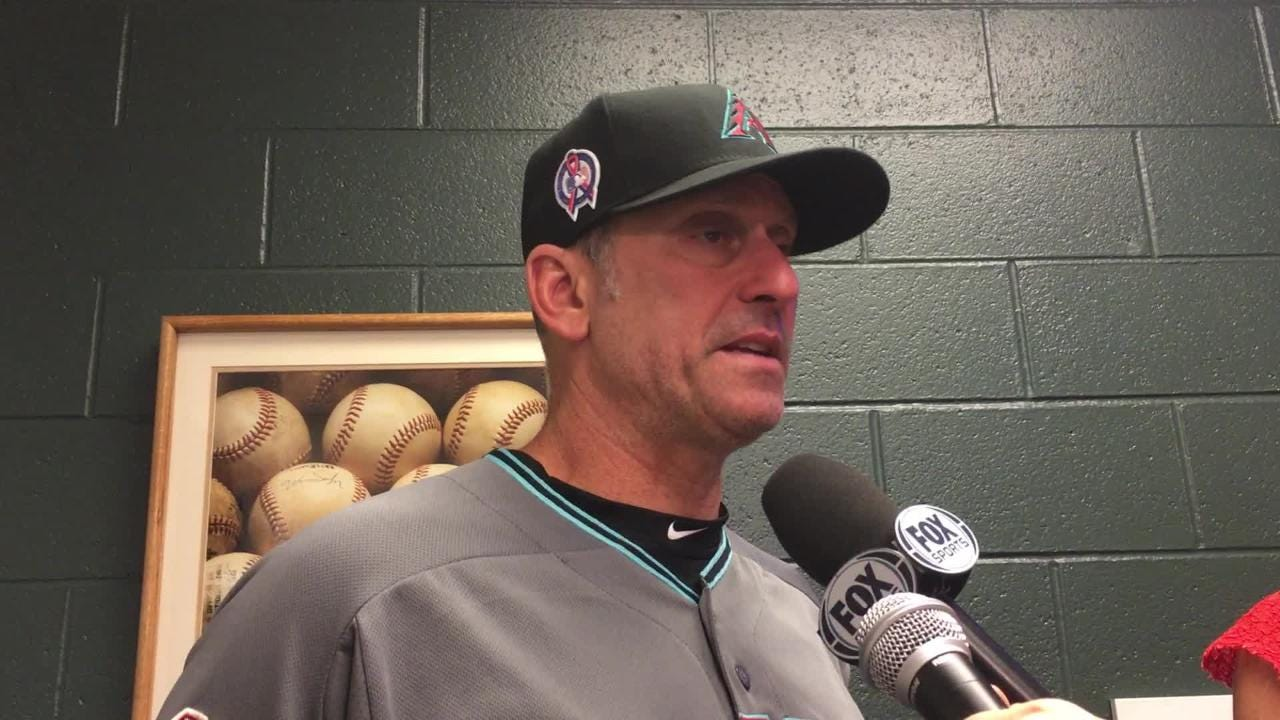 Diamondbacks manager Torey Lovullo talks about Zack Greinke's outing and his bullpen usage in Tuesday night's 6-3 win over the Rockies.