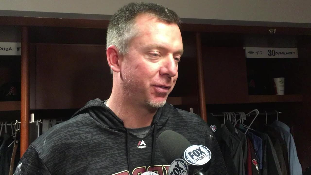 Reliever Brad Ziegler talks about his ability to work out of another jam as the Diamondbacks beat the Rockies 6-3 on Tuesday night.