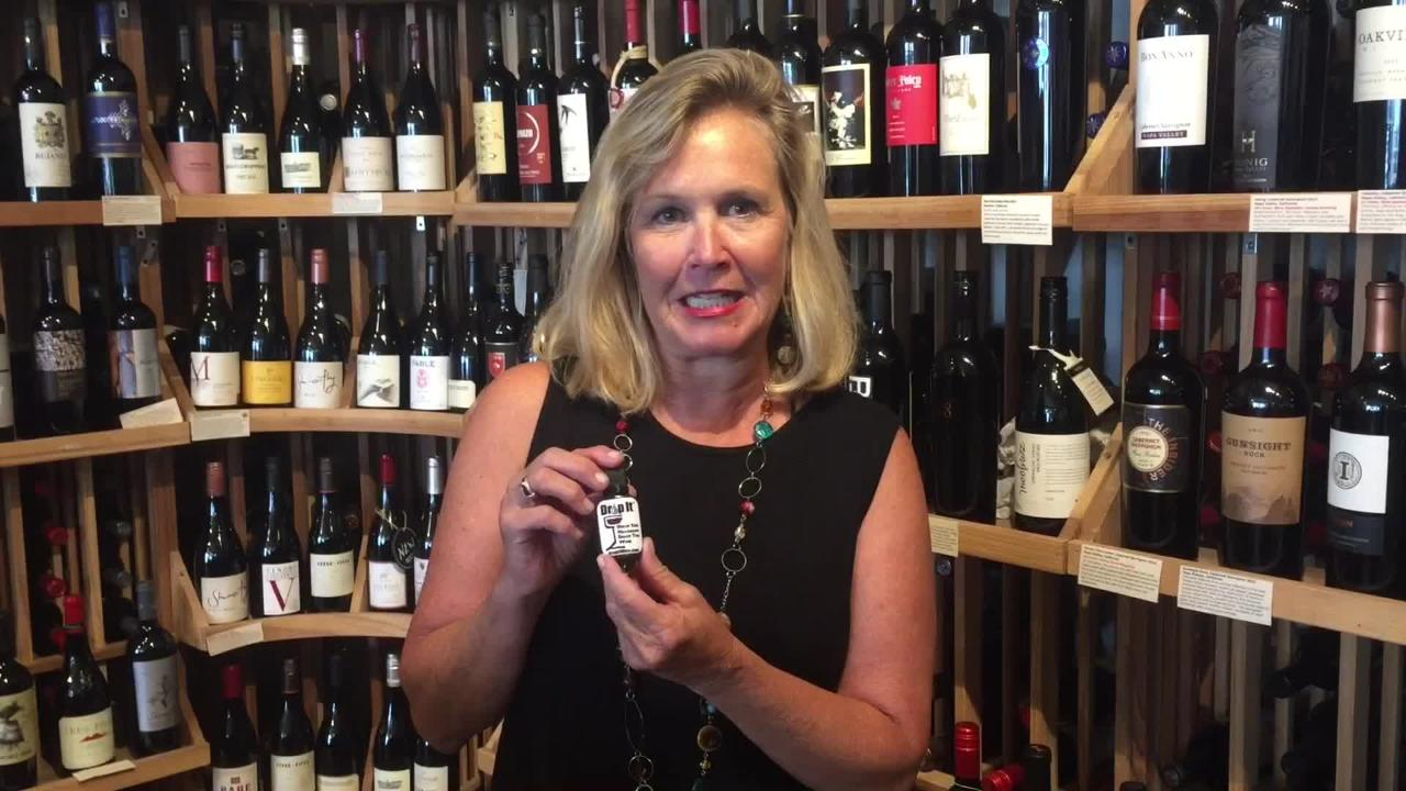 Jenny Corcoran of Cape Charles, Virginia invented and is successfully marketing a product she calls Drop It, a sulfite and tannin reducer for wine.