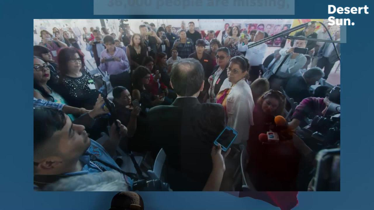 Incoming Mexican administration kicks off peace tour, promises to end cartel-fueled violence