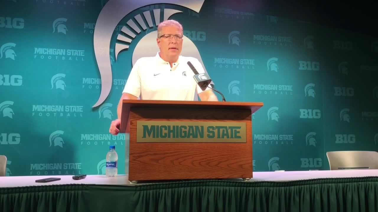 Michigan State hockey coach Danton Cole talks about the impact the renovations to Munn Ice Arena will have on his program.