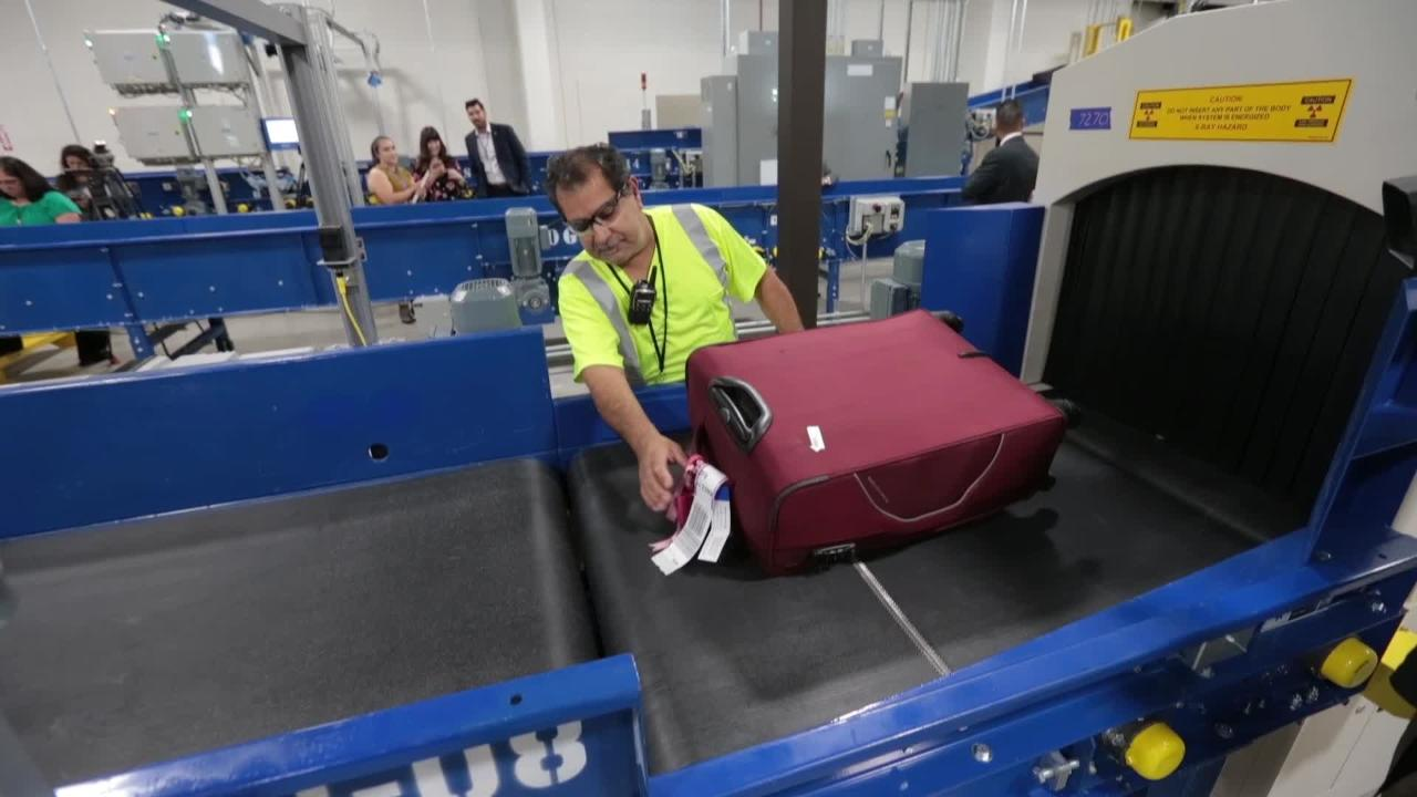 The El Paso International Airport's New $27.5 Million Checked Baggage Inspection System