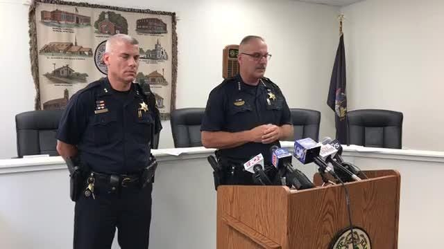 Monroe County Sheriff Todd Baxter releases the identity of the two bodies found in a burned car in Hamlin.