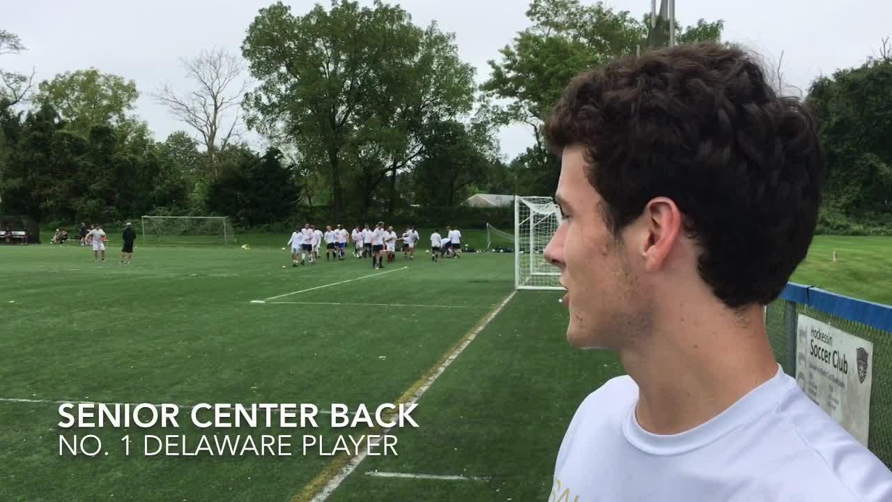 Delaware's No. 1 soccer player to start 2018 season is Salesianum senior center back Tom McGrail