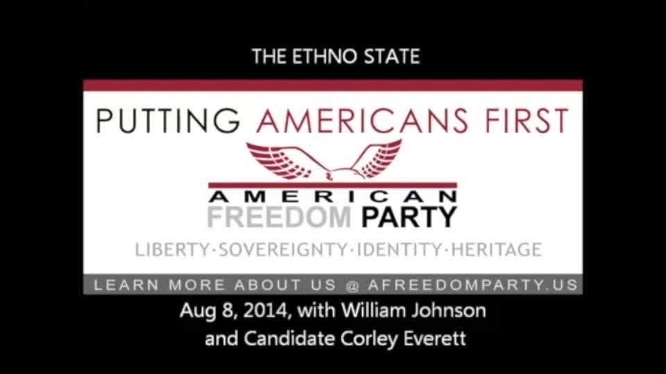 Everett, who is running for the Kentucky House 43rd District, appeared on The Ethno State program in 2014.