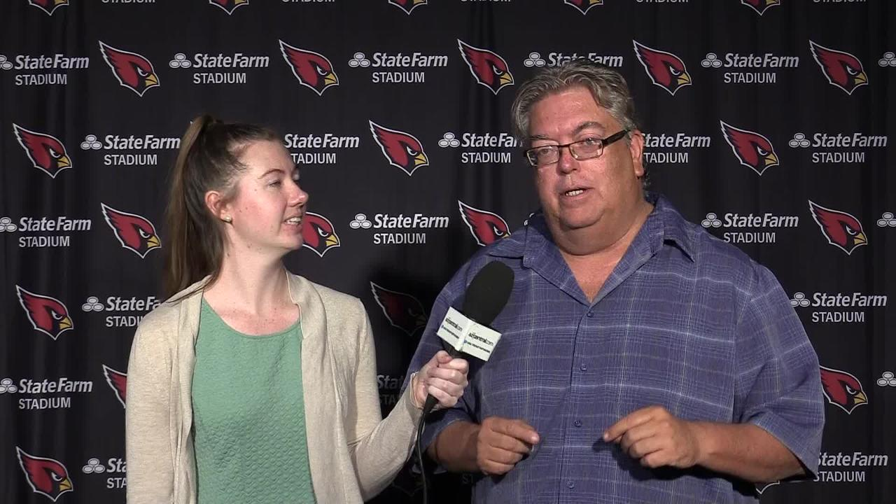 Katherine Fitzgerald and Bob McManaman talk about the Cardinals' health status and the team's mindset after Week 1.