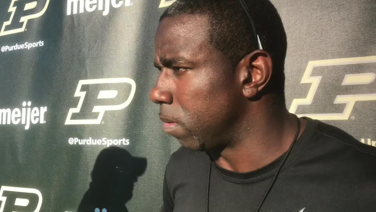 Purdue receivers and co-offensive coordinator on the passing game