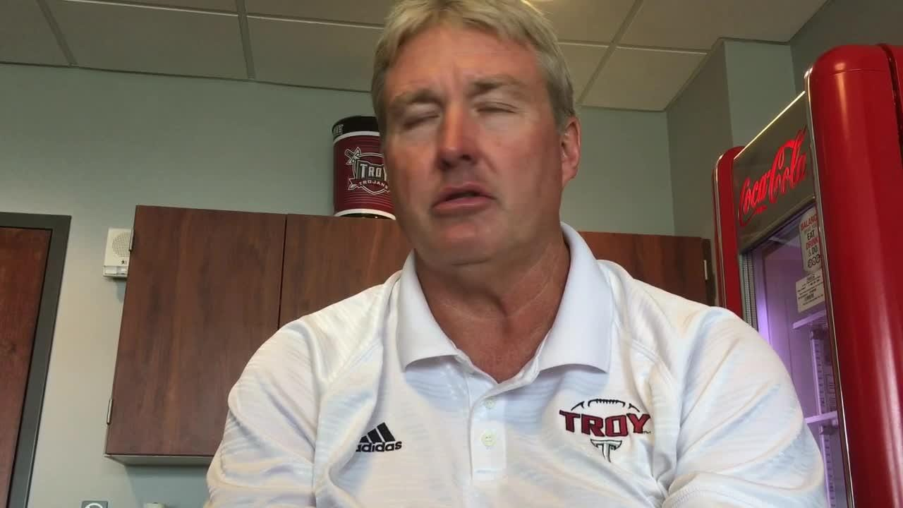 Troy defensive coordinator Vic Koenning remembers his past visits to Nebraska before the Trojans play there this weekend.