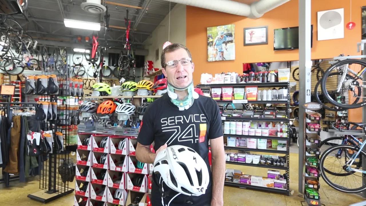 Dave Hasse talks about the Race The Lake bike crash that involved 15 cyclists at high speed.