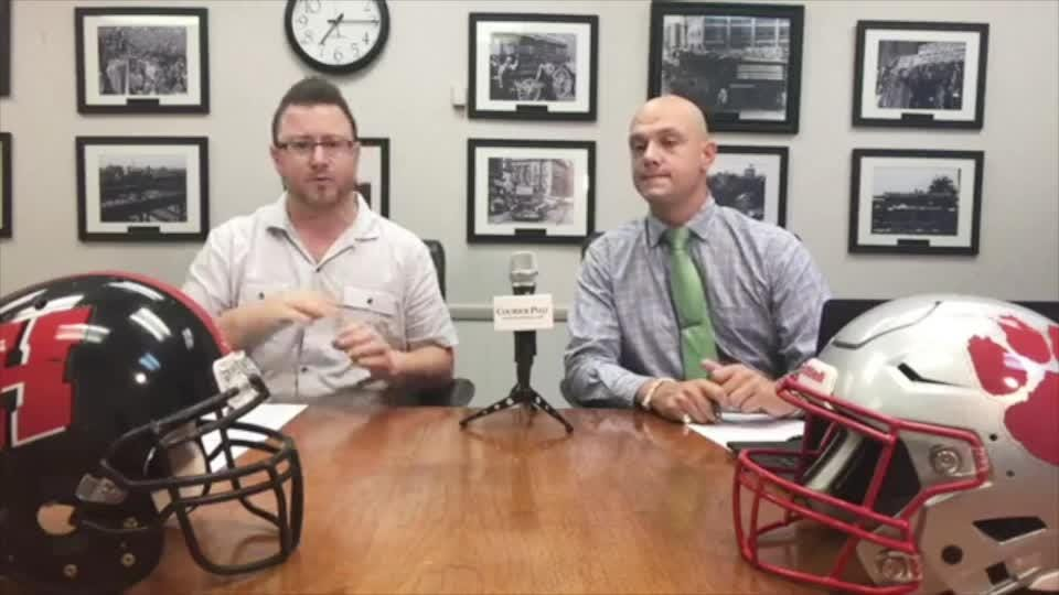 Reporters Mark Trible and Josh Friedman review Week 1, look ahead to Week 2, and field questions from viewers. The show runs on facebook.com/sjgridirongang every Wednesday at 7 p.m.