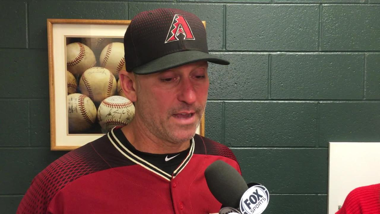 Diamondbacks manager Torey Lovullo talks about his team's latest gut-wrenching loss, a 5-4 walk-off loss to the Rockies at Coors Field.