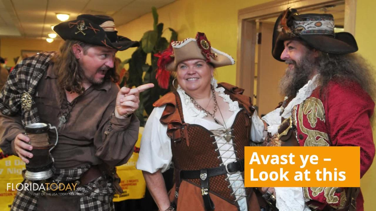 Try some pirate speak with you friends on Sept. 19th in celebration of National Speak Like a Pirate Day.