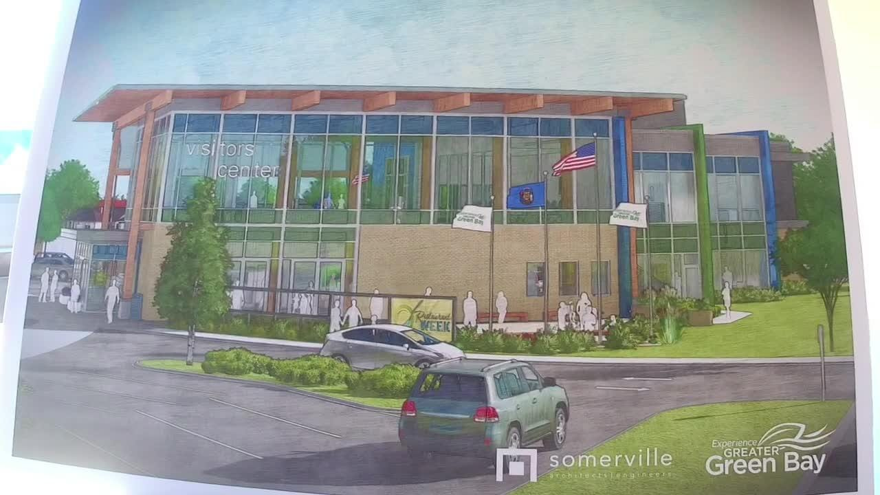 The Experience Greater Green Bay Visitors Center will be a $6.5 million welcome center for visitors and residents. It is expected to open by 2020.
