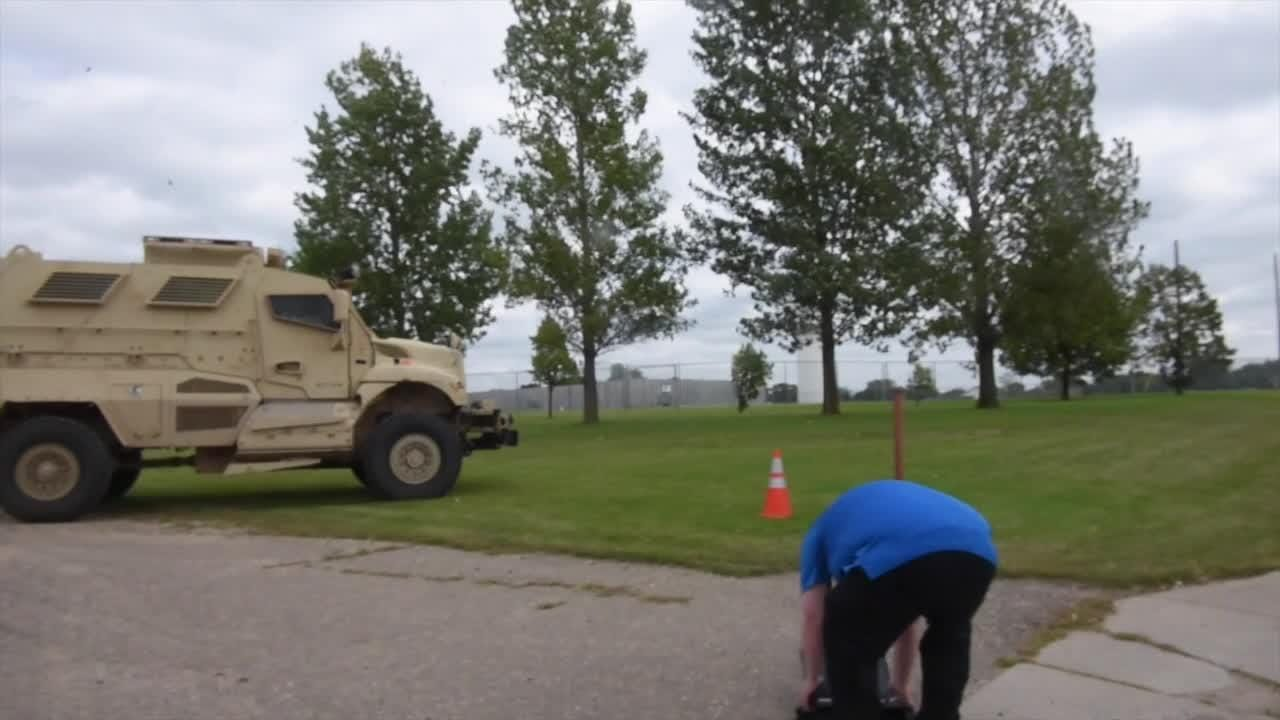 Armored vehicle, many agencies respond to scene in Sauk Centre