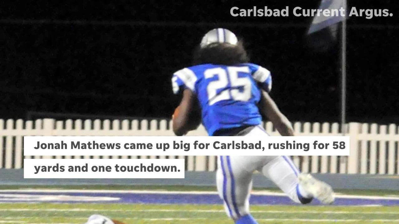 Photo and video highlights from Carlsbad's 51-0 win over Atrisco Heritage Academy