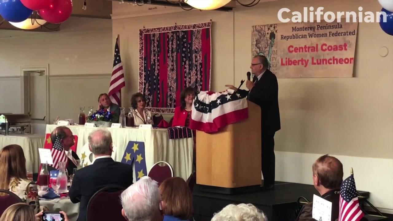 VIDEO Joe Arpaio visits Monterey County