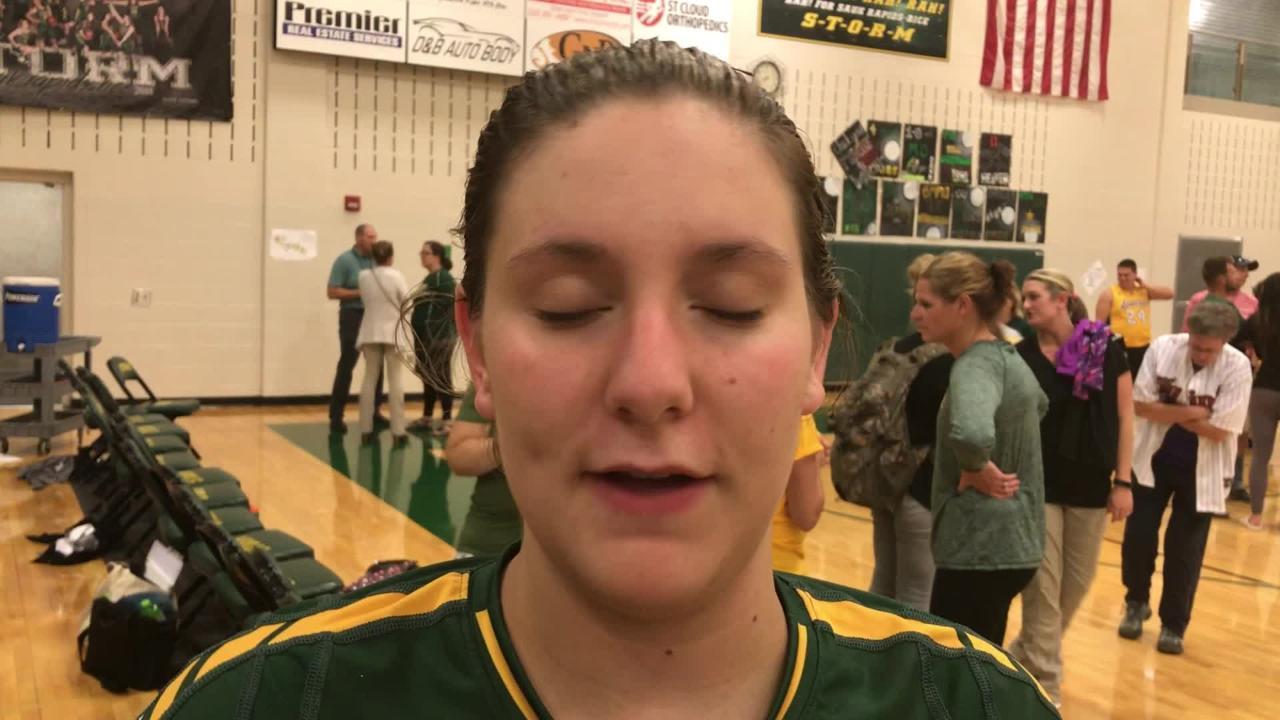 Sauk Rapids senior talks volleyball