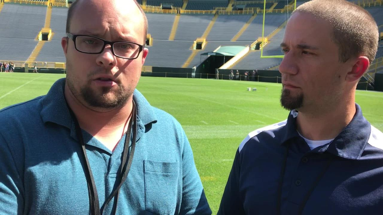 Packers Morning Buzz  Aaron Rodgers planning to play through pain ce64f2960