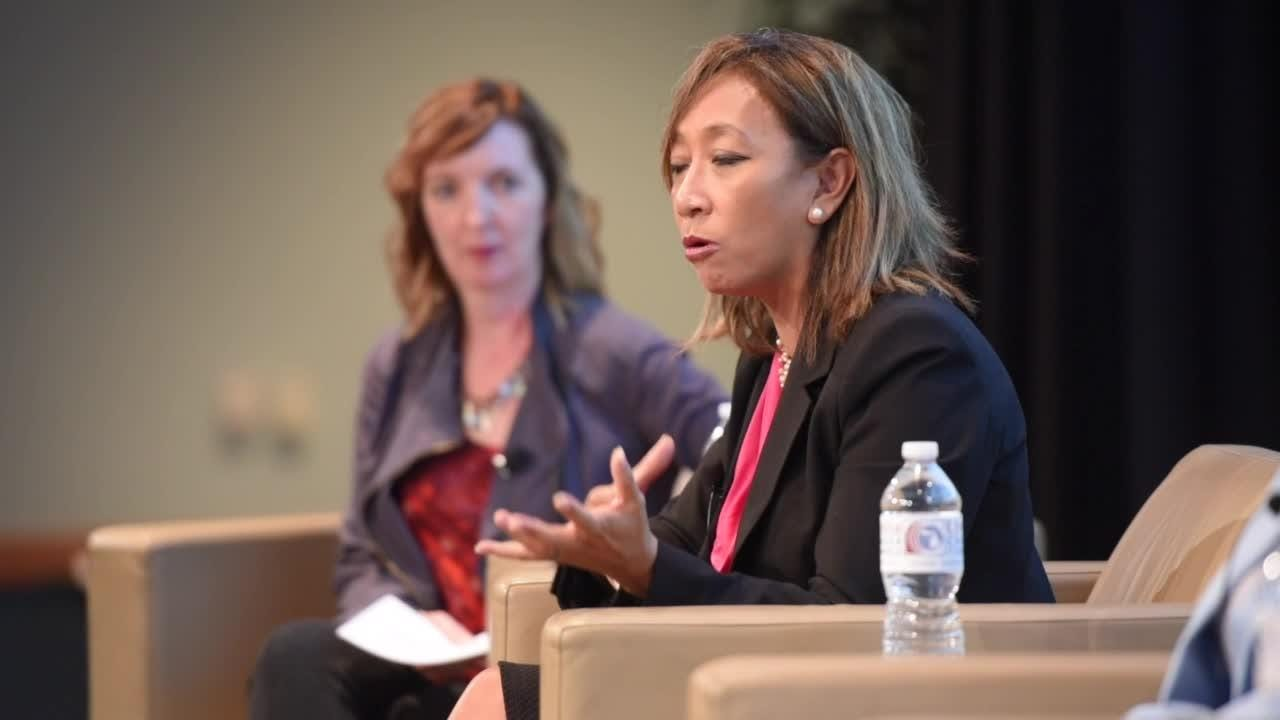 Chamber of Commerce hosts panel discussion on diversity and inclusion in the workplace.